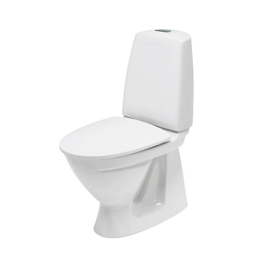 Gulvmontert toalett