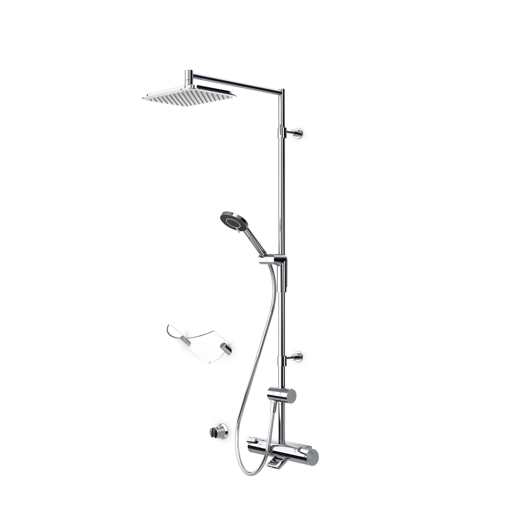 Optima 7192 rain shower takdusjsett