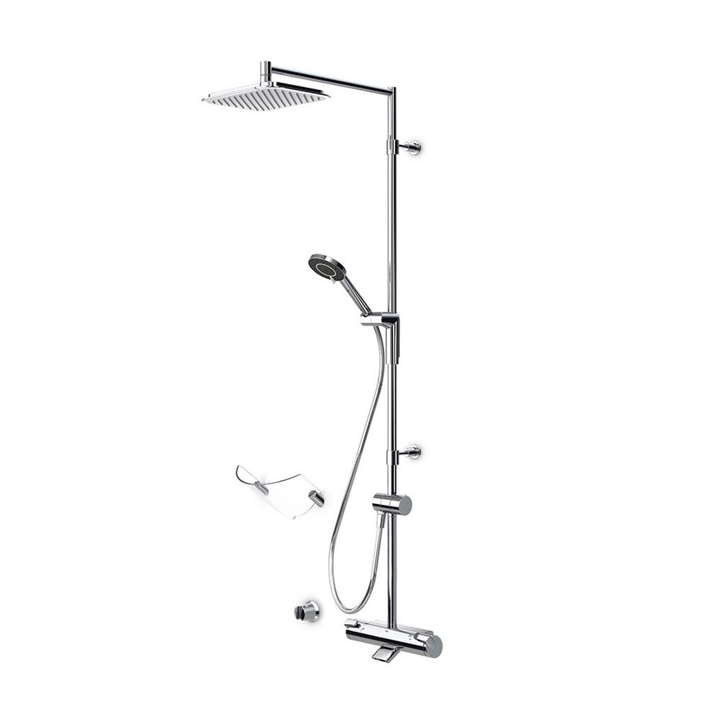 Optima 7194 rain shower takdusjsett