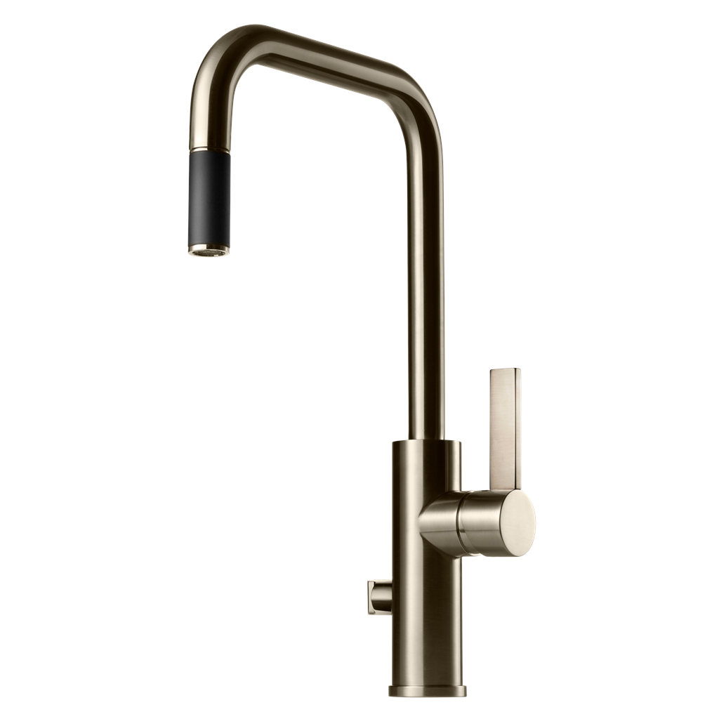 ARM887 kjøkkenbatteri, Brushed Nickel